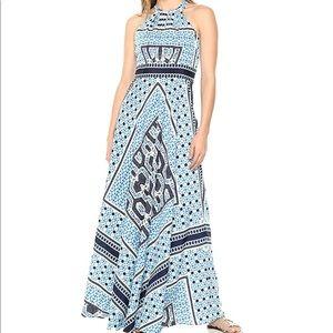 Eliza J Women's Printed Halter Maxi Dress